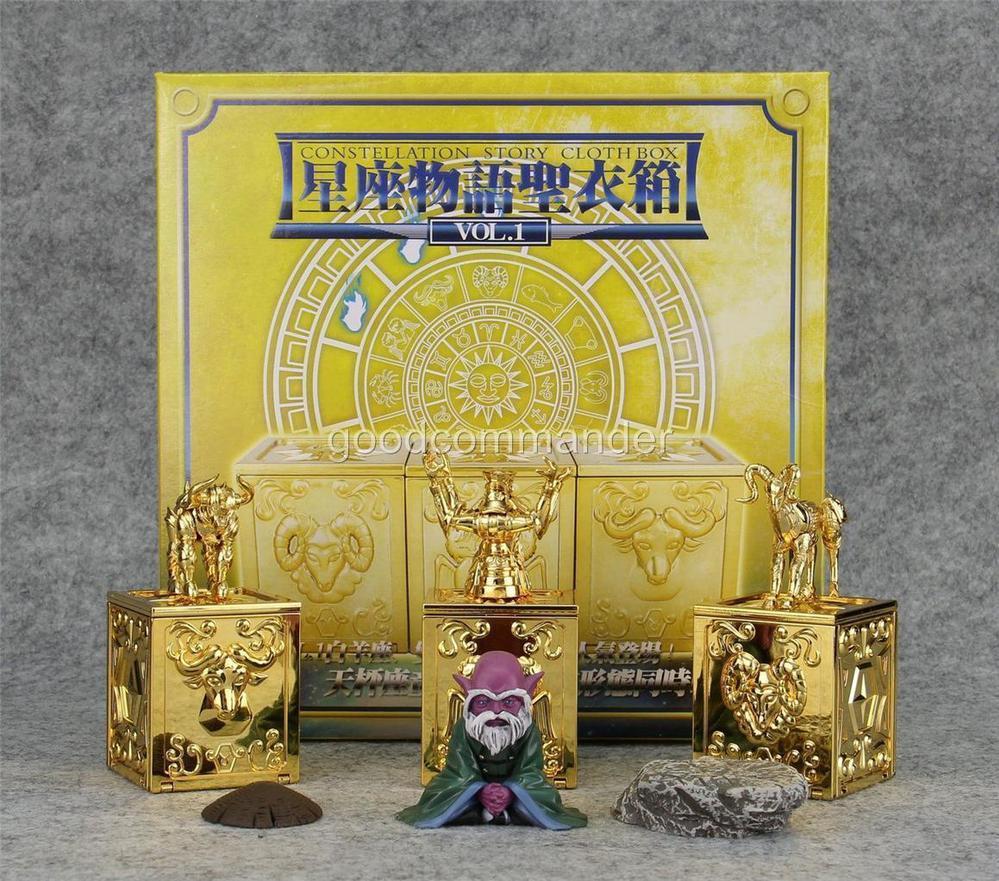lc saint seiya myth pandora box vol ex taurus aries gemini lc saint seiya myth pandora box vol 1 ex taurus aries gemini dohko figure