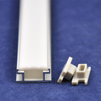 Wholesale 10pcs meter pc new u Channel LED Aluminum Slot Profile with Waterproof Cover WU RS4031