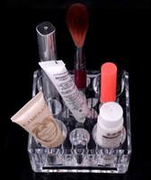venda por atacado acrylic makeup case-grande promoção !! Acrílico claro Cosmetic Jóias Organizer Makeup Caso Box SF-1031 Acrílico Organizer Box