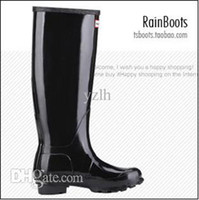Wholesale Foreign trade the original single fashion BOOTS hunter polychromatic light rain BOOTS shoes Free transportation