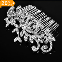 Comb Rhinestone/Crystal  Free shipping Rhinestone and crystal bridal accessories Vintage style bridal hair comb