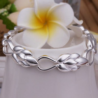 Beaded, Strands South American Unisex new arrive Free Shipping pretty hot sale 925 Sterling Silver pretty smooth fashion jewelry bracelet best gift H327