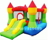 Wholesale inflatable mini bouncer yard bouncer for family use with free CE UL blower