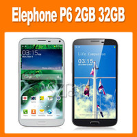Wholesale Elephone P6 Note N9000 MTK6589T Quad Core GHz Inch HD Screen Android Smart Phone MP Camera GB GB G GPS OTG