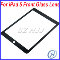 For Apple For iPad 5 9.7 For iPad 5 Air Front Glass Lens Touch Screen Digitizer Cover Replacement For Apple iPad5 5th