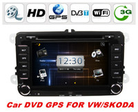Wholesale 2din quot Car DVD Player For VW JETTA Passat Golf Tiguan Skoda Touran Jetta Seat CC With BT IPOD D UI PIP TV Radio RDS AUX IN