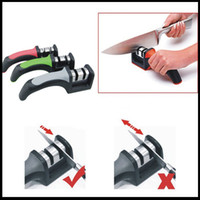 Wholesale New knife sharpener diamond ceramic knife sharpening household kitchen knives new knife sharpener