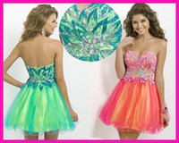 Multi Colored Homecoming Dresses - RP Dress
