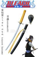 "Cheap 41"" Anime Bleach Character Fantas Swords Kaname Tosenr Zanpakuto Suzumushi Cosplay Swords"