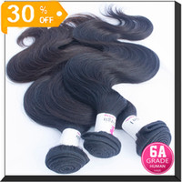 Wholesale Indian Brazilian Peruvian Malaysian Eurasian European Body Wave Hair Extension bundle quot to quot Natural Hair A