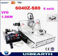 Cheap 220v/110v mini cnc Best 4 axis VFD 800W CNC6040Z