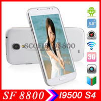 Wholesale I9502 I9500 H9500 S4 Inch MTK6572W Dual Core GHz Smartphone FWVGA MB GB Dual MP Camera Android G GPS