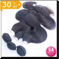 Wholesale Hot Sale Brazilian Virgin Hair Extension Body Wave quot Bundle Natural Hair Golden Hair A