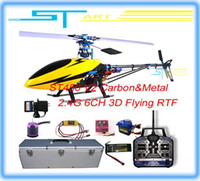 Wholesale ST450V2 carbon Metal G ch RTF with Big Aluminium box case V2 Ghz channel Ready to Fly RC helicopter Supernova Sales