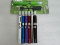 Electronic Cigarette assorted electronics - EGO EVOD Starter Kit Blister Card USB Rechargable EVOD Battery mAh mAh mAh MT3 Clearomizer electronic cigarettes Assorted Colors