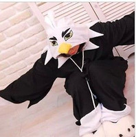 Wholesale Details about Unisex Eagle Kigurumi Pajamas Anime Onesie Cosplay Sleepsuit Costumes S M L XL
