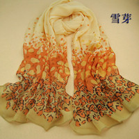 Wholesale Chiffon scarves scarves shawls trade companies selling full free sources of supply logistics XQ08