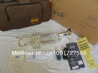 Yes Bb Yellow Brass Manufacturers selling Copy the baja BachLT180S-37 small instruments surface silver brass instruments Bb trumpet