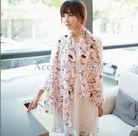 x-047 -white , x-048 beige , x-049 pink Spot X-047 48 49 Scarves wholesale, 2013 explosion models super cheap high heels I love lipstick chiffon scarf, chiffon scarf, scarves