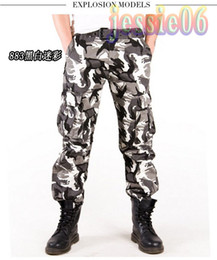 Wholesale 2014 Christmas New Men Casual Military ARMY CARGO army CAMO Combat Work Pants TROUSERS sportive Outdoor CS Man Colors SIZE28