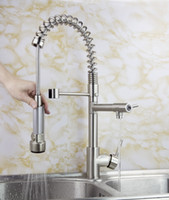 Wholesale Brushed Nickel Bar Kitchen Sink Pull out Spray Faucet M10