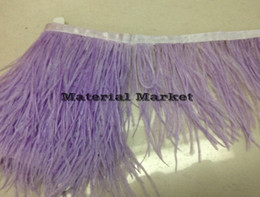 Free Shipping-10 yards lot ostrich feather trimming fringe ostrich feather fringe feather trim 5-6inch in width