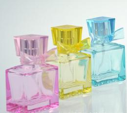 Wholesale Colorful ml ordinary spray perfume bottle glass bottles