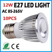 Wholesale Factory selling Cree W COB E27 Led light Led Bulb AC85 V Warm Cool White CE RoHS Led Lighting