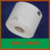 Wholesale 100 rolls Brother Compatible Labels DK DK DK Labels Brother Labels mm mm labels
