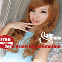 Wholesale 6 FF zero profitJapanese fashion high temperature wire oblique bangs long hair wig anime wig factory direct COS