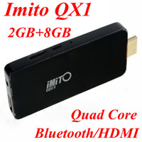 14'' Desktop 16:9 2013 New IMITO QX1 Quad Core 2GB+ 8G RK3188 Bluetooth Android 4.2 Mini PC TV Box 1.6GHz Android TV box Wholesale free shipping