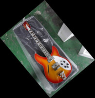 Wholesale New Arrival Chinese guitar Cherry burst Model electric Guitar China Guitar stereo varitone HOT SALE