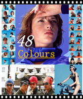 Wholesale 48 colours Sport Magic Scaf Seamless Headwear Band Tube Multifunctional Headwear Bandana