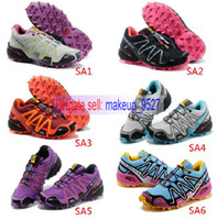 Wholesale 18Colors China Post Air New Arrival Salomon Running shoes Women Sport Running Shoes Women Sneakers Price