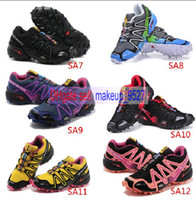 Free Shipping 18Colors New Arrival Women Sneakers Salomon Ru...