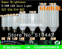 Wholesale E27 E26 E14 B22 SMD LED Corn Bulb Light degree Maize Lamp Energy Saving light Cool White W W W W W W W W New Arrival