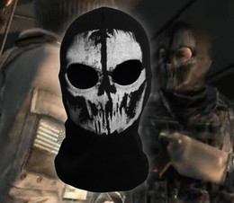 Wholesale New High Quality Ghost Ski Full Face Mask For New Call of duty Ghosts Protagonist mask Protagonist