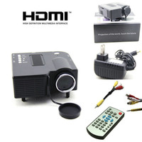 Wholesale New Portable HD LED Projector Home Cinema Theater PC Laptop VGA USB SD AV HDMI