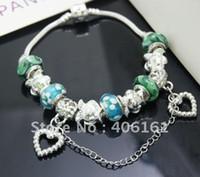 Wholesale price bracelet beaded bracelet beaded jewelry charm bracelet hot bracelet sterling silver A05