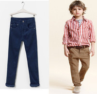Boy children in underwear - 2014 New Style In Stock Big Children Pants Pure Cotton Elasticity Youth Boys Casual Pants Kids Trousers Underwear QZ345