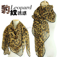 Wholesale European and American fashion Korean version of cashmere scarves chiffon scarves wild leopard print scarf shawl large influx of Ms Winter