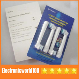 Wholesale New electric toothbrush heads brush replaeable head pack great quality Hot Sale