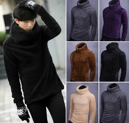 Wholesale 2013 Men Korean Slim thick winter sweater turtleneck sweater bottoming casual warmth