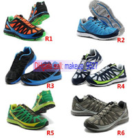 FREE Shipping 2013 new arrival 13 Colors salomon Running sho...