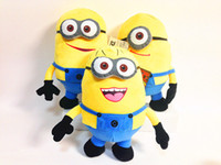 Unisex Big Kids Video Games Despicable Me Minions Toys Wholesale 50cm 20inch 3D eye Large Minion Plush Dolls for Kids Popular Children Cartoon toy Sets free shipping