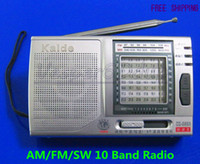 Wholesale 10PCS NEW Portable AM FM SW Band Shortwave Radio World Receiver