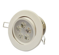 5w Yes LED LED DownLight Dimmable CREE 3W 5W 7W items White shell 330-770LM Bathroom living room kitchen light