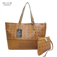 ladies designer handbags - MCM Shoulder Bags New women leather handbags designer brand bag high quality ladies Totes with change purse