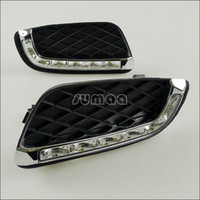 Wholesale LED Daytime Running Lights for smart fortwo BRABUS LED DRL for smart fortwo BRABUS OSRAM LED Lights DayLights