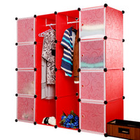 Wholesale Extra large double simple wardrobe storage drawer box futhermore resin plastic cabinet belt door